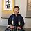 Thumbnail: SAMURAI BOY'S HAKAMA (Andon) / Gold/Navy, w/ Takeda Mon #0542