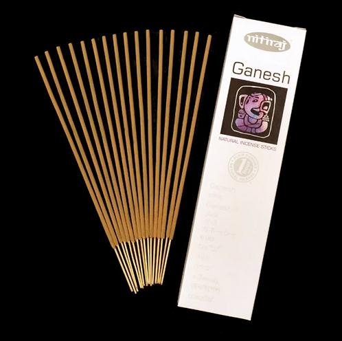 Nitiraj Platinum Incense - Ganesh