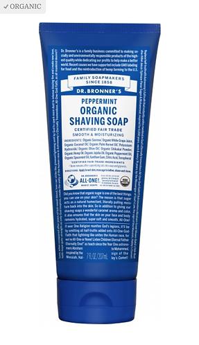 Dr Bronner's Shaving Soap Peppermint