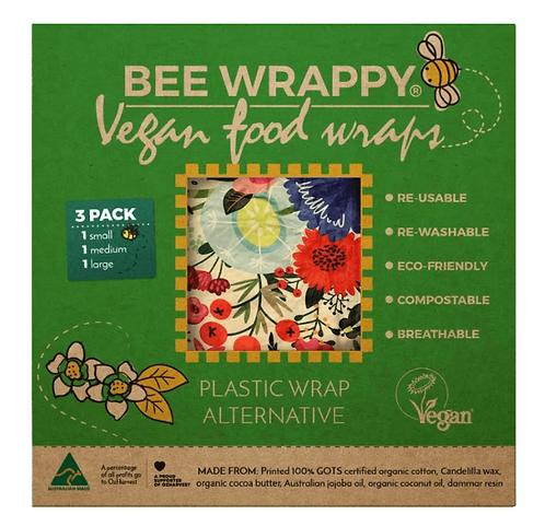 Vegan Food Wraps - 3 Pack