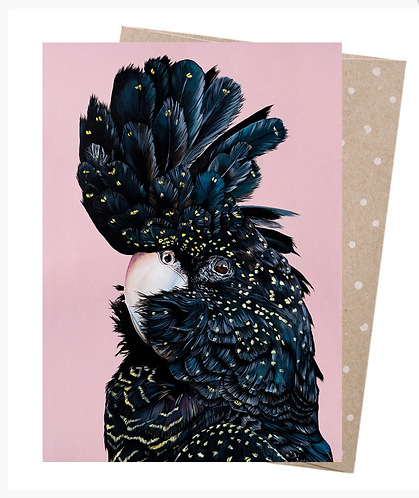 Earth Friendly Greeting Card - Rosie Red Tail