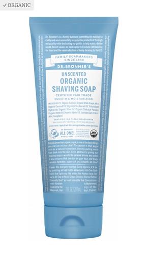 Dr Bronner's Shaving Soap Unscented
