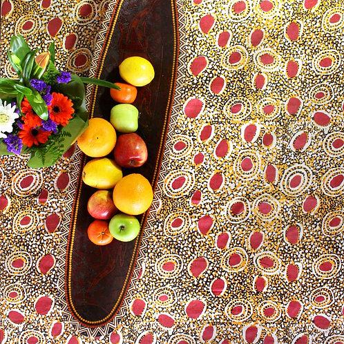 Square Linen Table Cloth - Wala Wuru Inma
