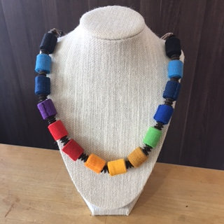 Upcycled Necklace Cylinder