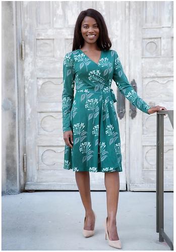 Florentina Organic Jersey Wrap Dress