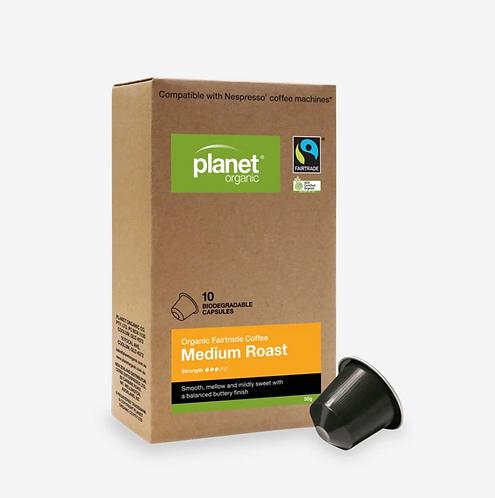 Planet Organic Coffee Capsules Medium Espresso