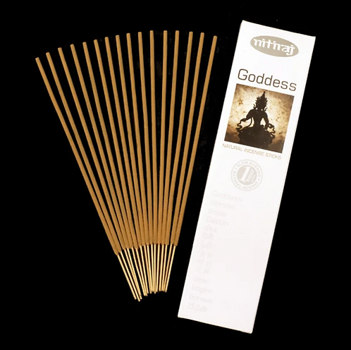 Nitiraj Platinum Incense - Goddess