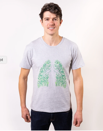 Unisex Lung Tree T-Shirt