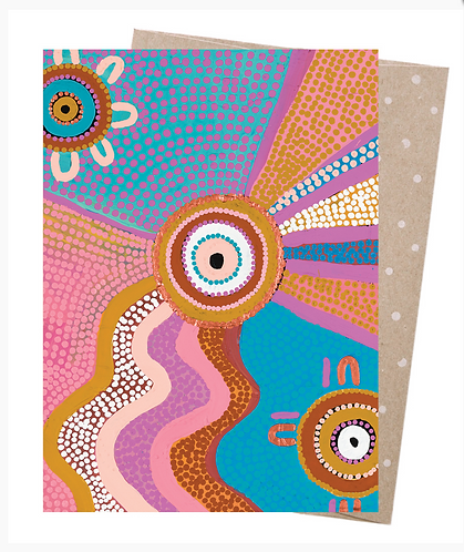 Earth Friendly Greeting Card - Between Two Worlds