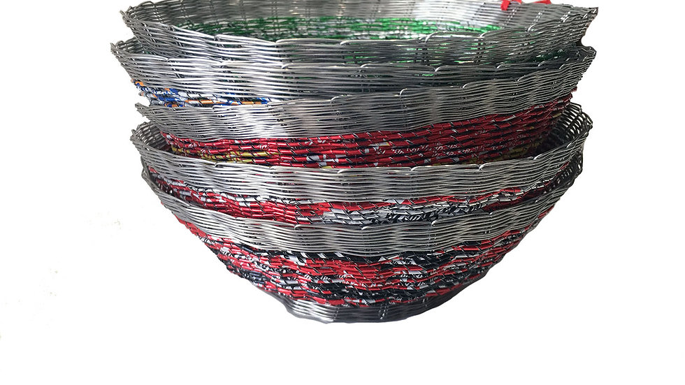 Bowl Made from Cans
