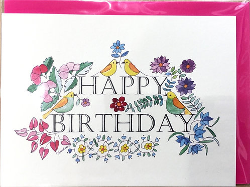 Tall Tales Greeting Cards - Happy Birthday