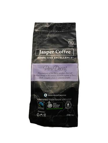 Jasper Coffee - Decaf Peru