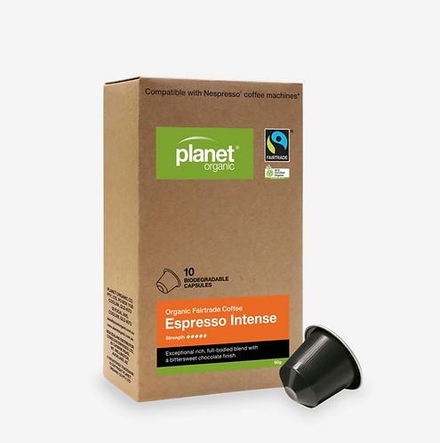 Planet Organic Coffee Capsules Intense Espresso
