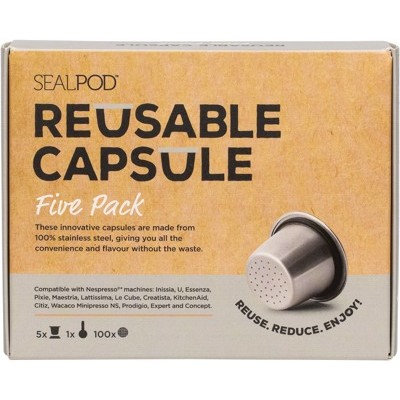 Reusable Coffee Capsule 5 Pack
