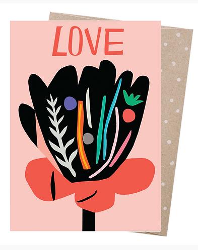 Earth Friendly Greeting Card - Bloom
