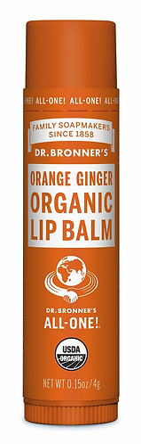Dr Bronner's Lip Balm Orange Ginger