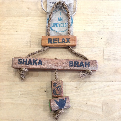 Upcycled Wooden Sign