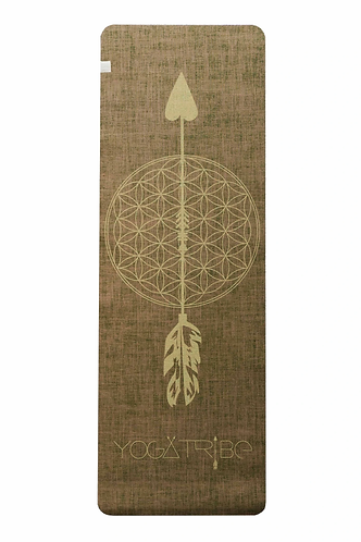 Eco Yoga Mat by YogaTribe® - Pistachio