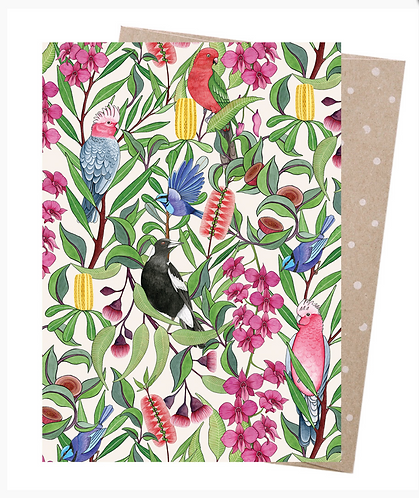 Earth Friendly Greeting Card - Native Tango