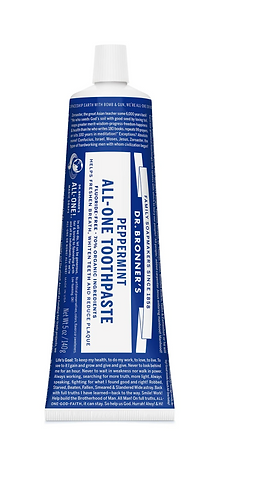 Dr Bronner's Toothpaste Peppermint