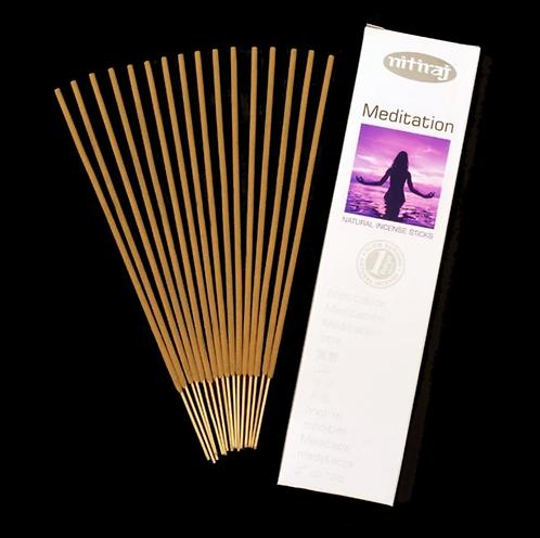 Nitiraj Platinum Incense - Meditation