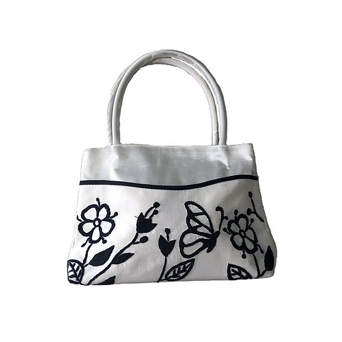 Silk Handbag with Handle