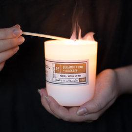 Aromatic Soy Candles - Bergamot, Lime & Black Tea