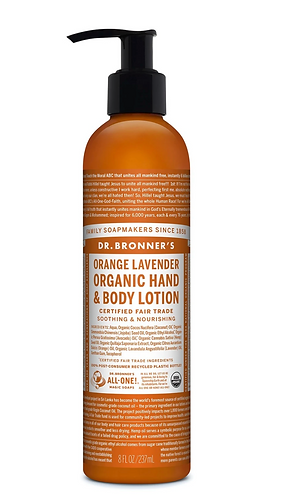 Dr Bronner's Lotion Orange Lavender