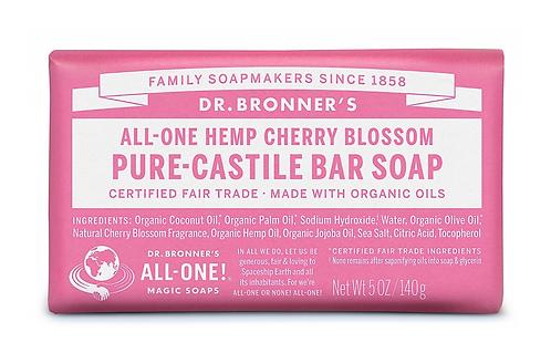 Dr Bronner's Pure-Castile Soap Bar Cherry Blossom