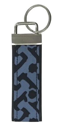 Batik Vegan Leather Key Fob