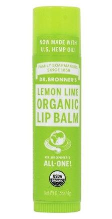 Dr Bronner's Lip Balm Lemon Lime