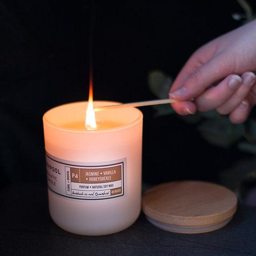 Aromatic Soy Candles - Jasmine, Vanilla & Honeysuckle