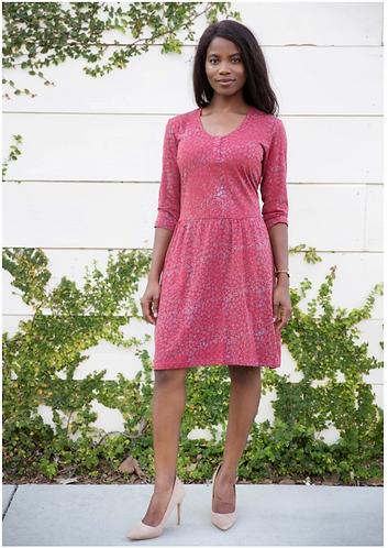 Arlet Cotton Jersey Dress Short Sleeve