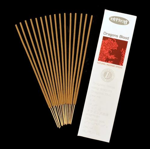 Nitiraj Platinum Incense - Dragon's Blood