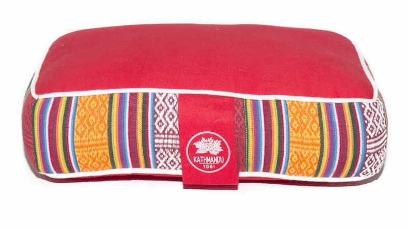 Meditation Pillow Bhutanese Weave