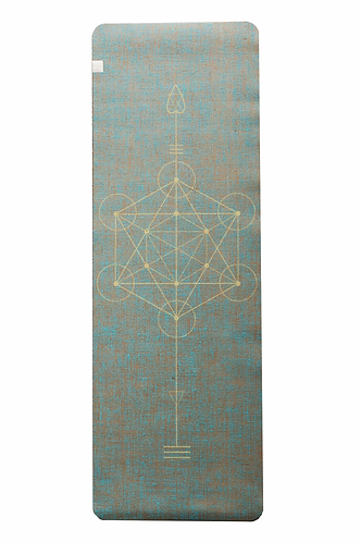 Eco Yoga Mat by YogaTribe® - Aqua
