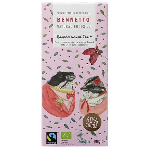 Bennetto Chocolate - Raspberries in Dark