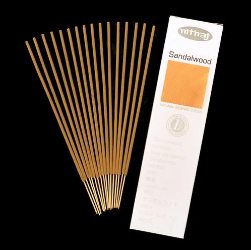 Nitiraj Platinum Incense - Sandalwood