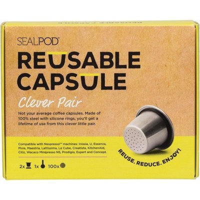 Reusable Coffee Capsule Clever Pair