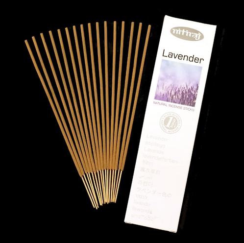 Nitiraj Platinum Incense - Lavender