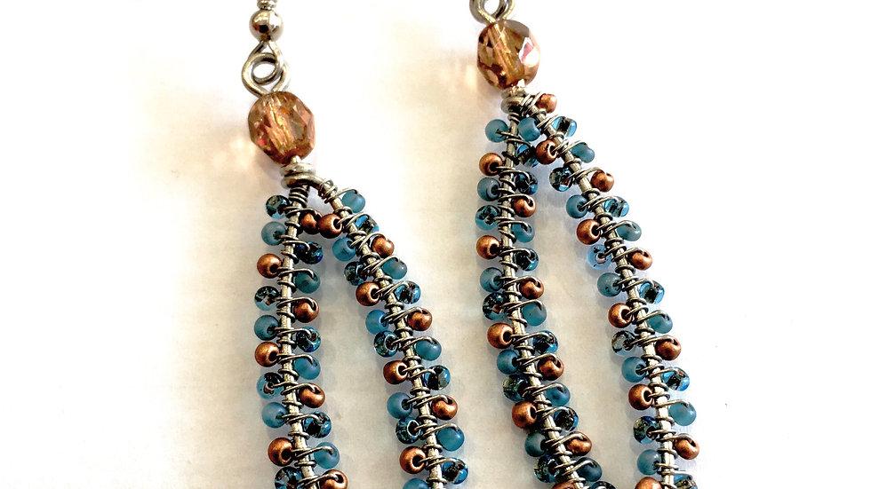 Oval Rim Earrings