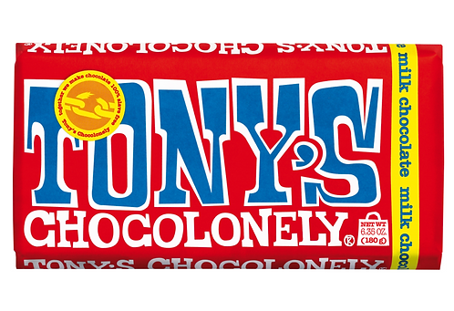 Tony Chocolonely's 100% Slave Free Milk Chocolate