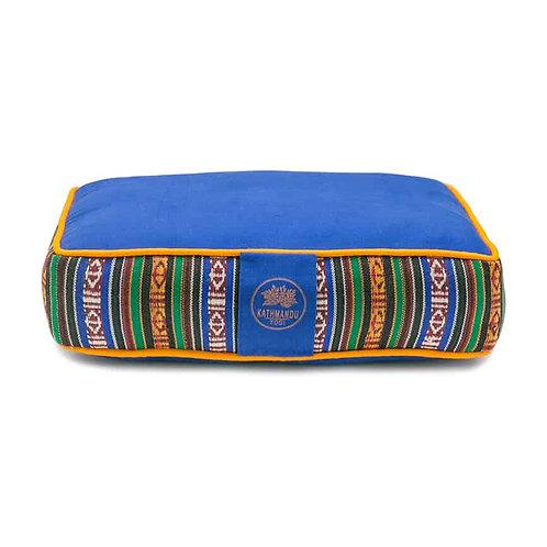 Meditation Travel Pillow Bhutanese Weave - Sky Blue
