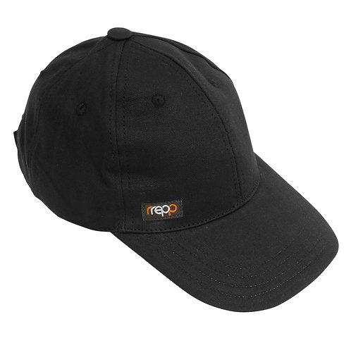 Black Fairtrade Baseball Cap
