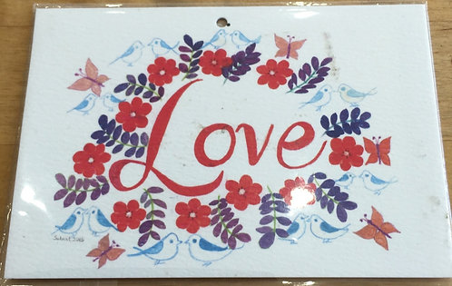 Gift Tag - Love