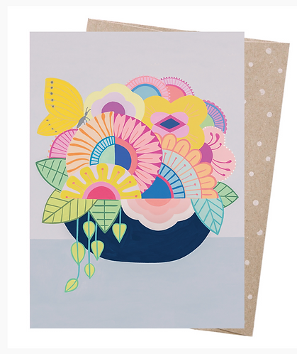 Earth Friendly Greeting Card - Full of Joy
