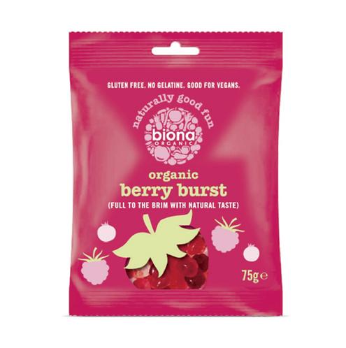 Organic Berry Burst Lollies