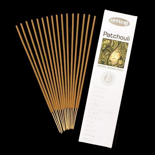Nitiraj Platinum Incense - Patchouli