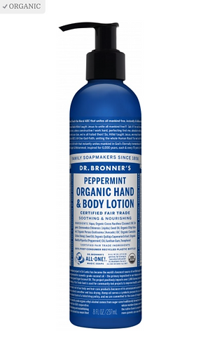Dr Bronner's Lotion Peppermint