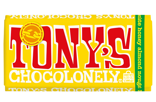 Tony Chocolonely's 100% Slave Free Milk Chocolate with Nougat